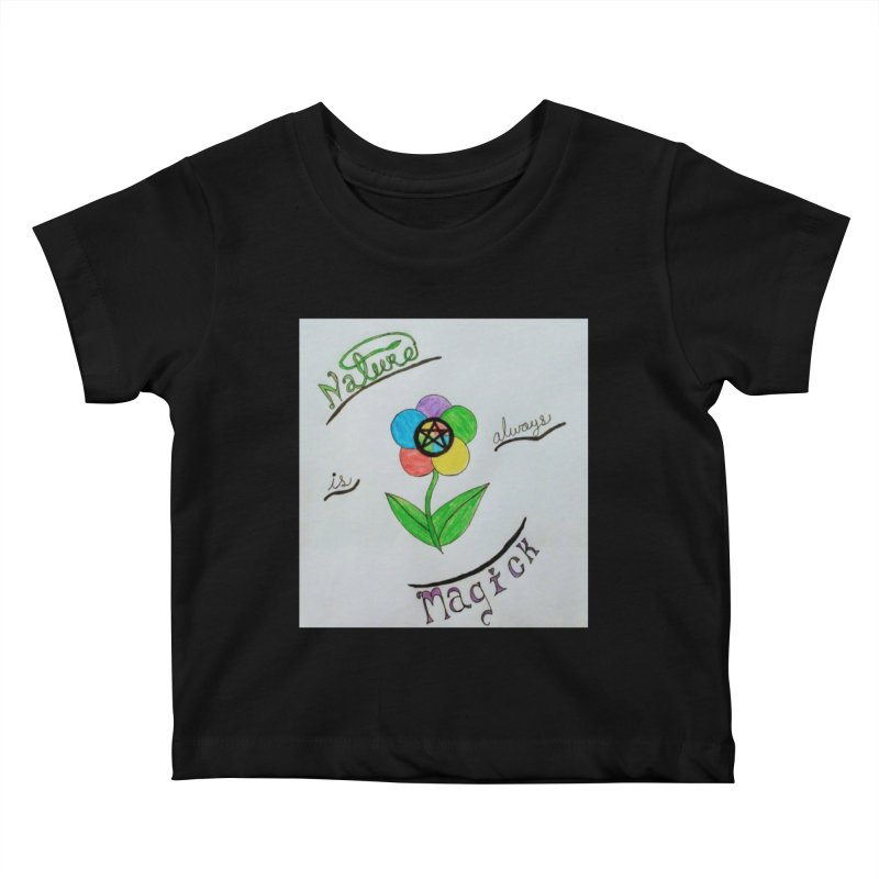 Nature Magick Kids Baby T-Shirt by Mind-art Passion