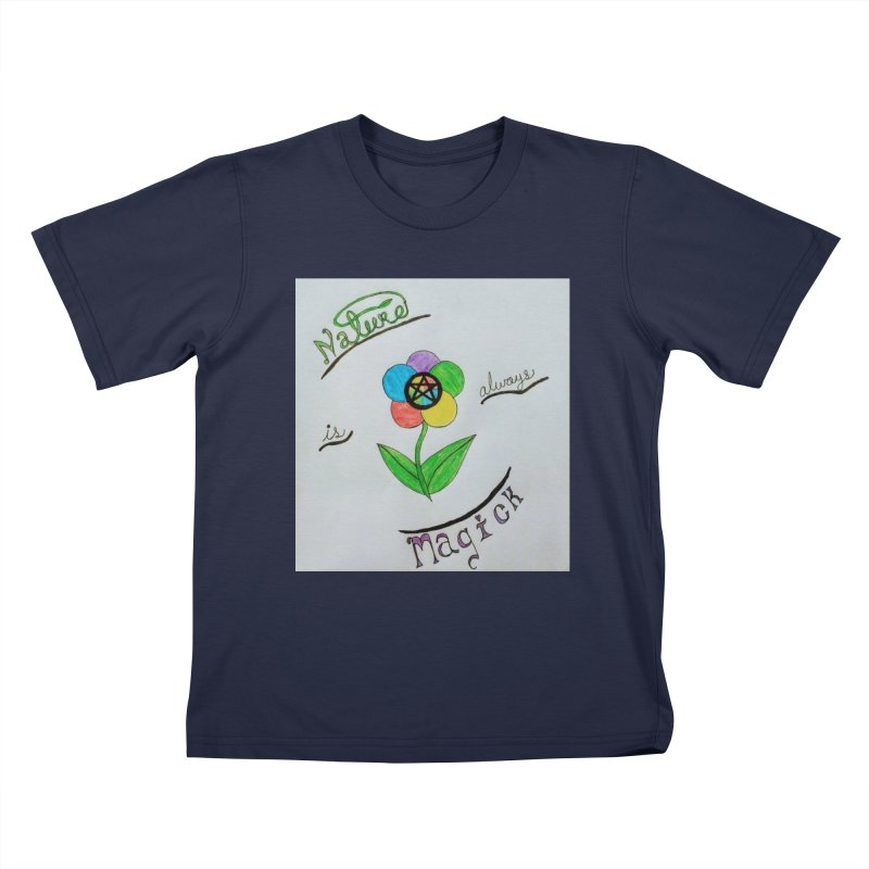 Nature Magick Kids T-Shirt by Mind-art Passion