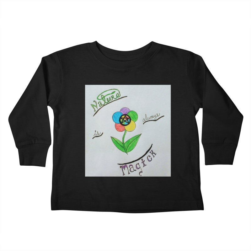 Nature Magick Kids Toddler Longsleeve T-Shirt by Mind-art Passion