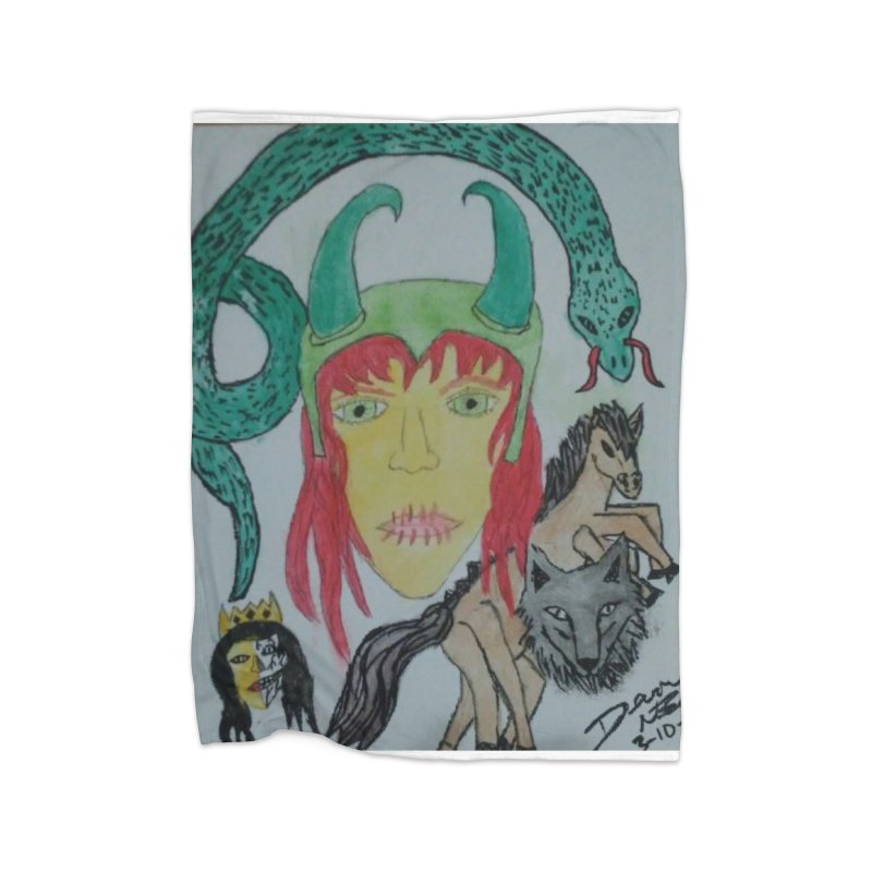 Loki's Children Home Blanket by Mind-art Passion