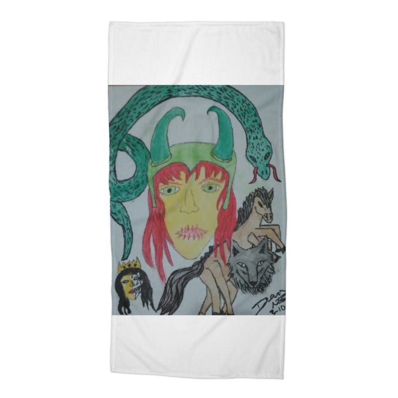 Loki's Children Accessories Beach Towel by Mind-art Passion