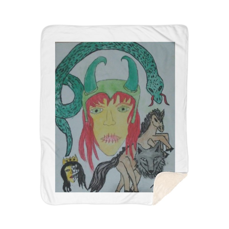 Loki's Children Home Blanket by Mind-art Passion