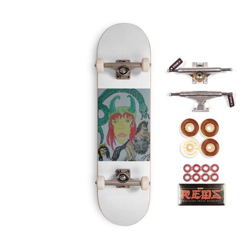 Loki's Children Accessories Skateboard by Mind-art Passion