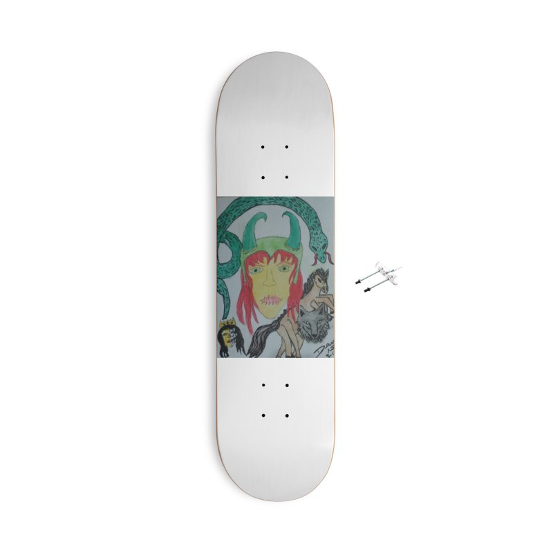 Loki's Children Accessories Skateboard by Mind-art Passion