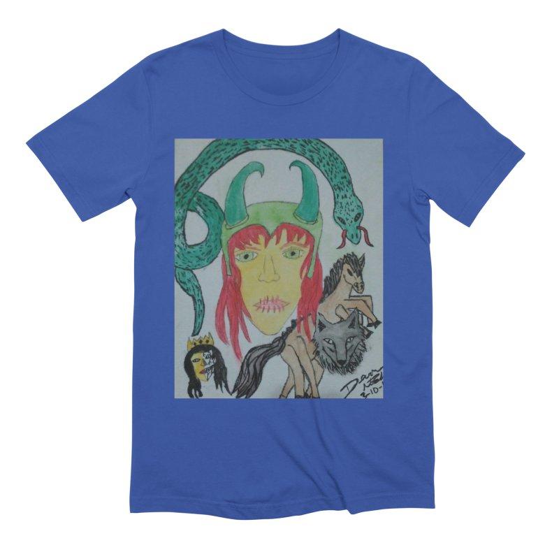 Loki's Children Men's T-Shirt by Mind-art Passion