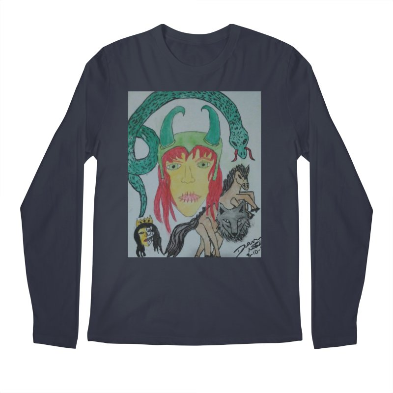 Loki's Children Men's Regular Longsleeve T-Shirt by Mind-art Passion