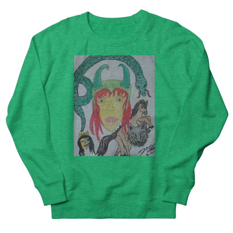 Loki's Children Women's Sweatshirt by Mind-art Passion