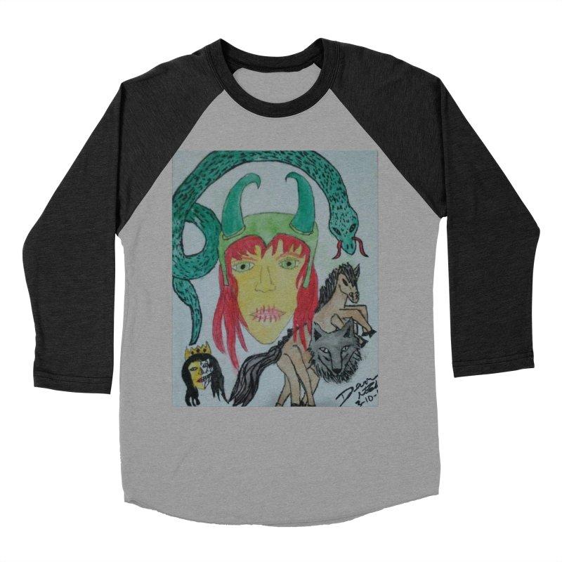 Loki's Children Women's Baseball Triblend Longsleeve T-Shirt by Mind-art Passion