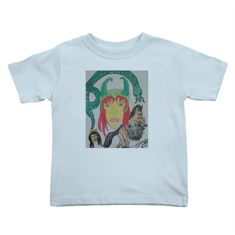 Loki's Children Kids Toddler T-Shirt by Mind-art Passion