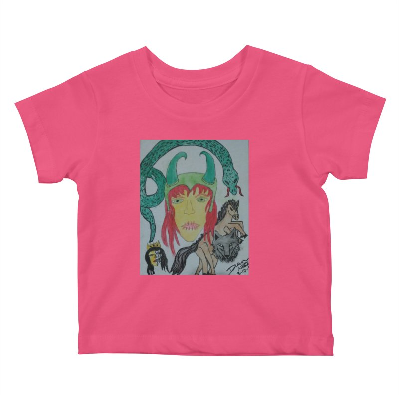 Loki's Children Kids Baby T-Shirt by Mind-art Passion