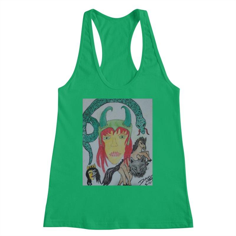 Loki's Children Women's Tank by Mind-art Passion