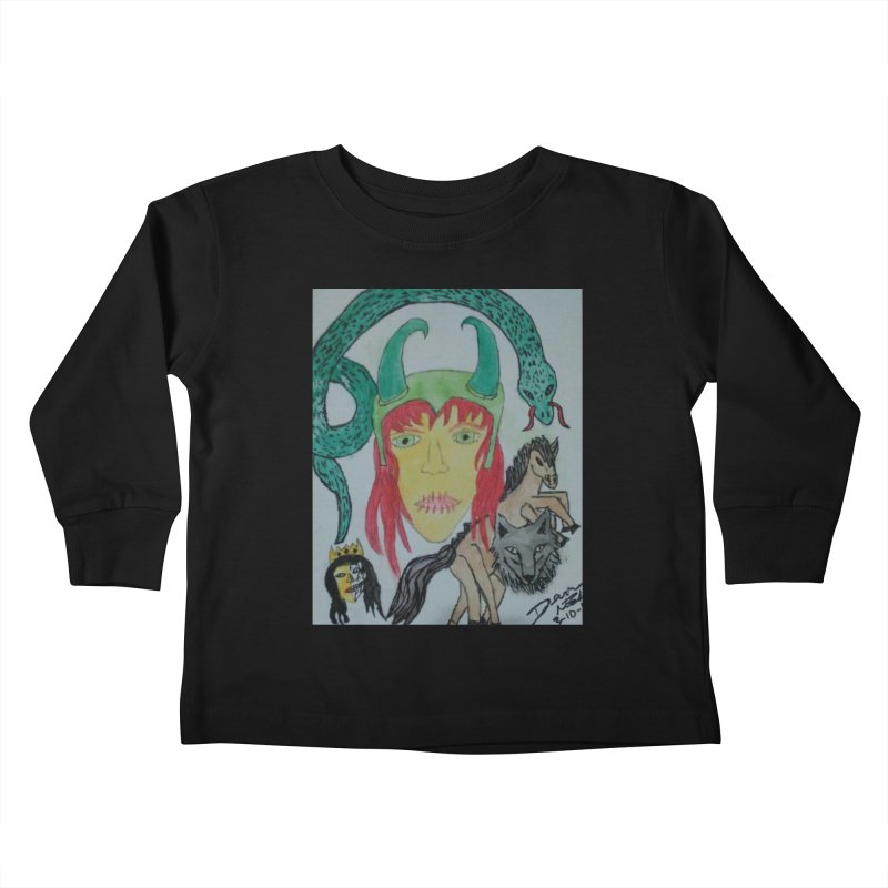 Loki's Children Kids Toddler Longsleeve T-Shirt by Mind-art Passion