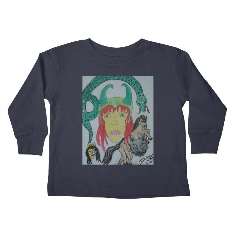 Loki's Children Kids Toddler Longsleeve T-Shirt by Mind-art Passion
