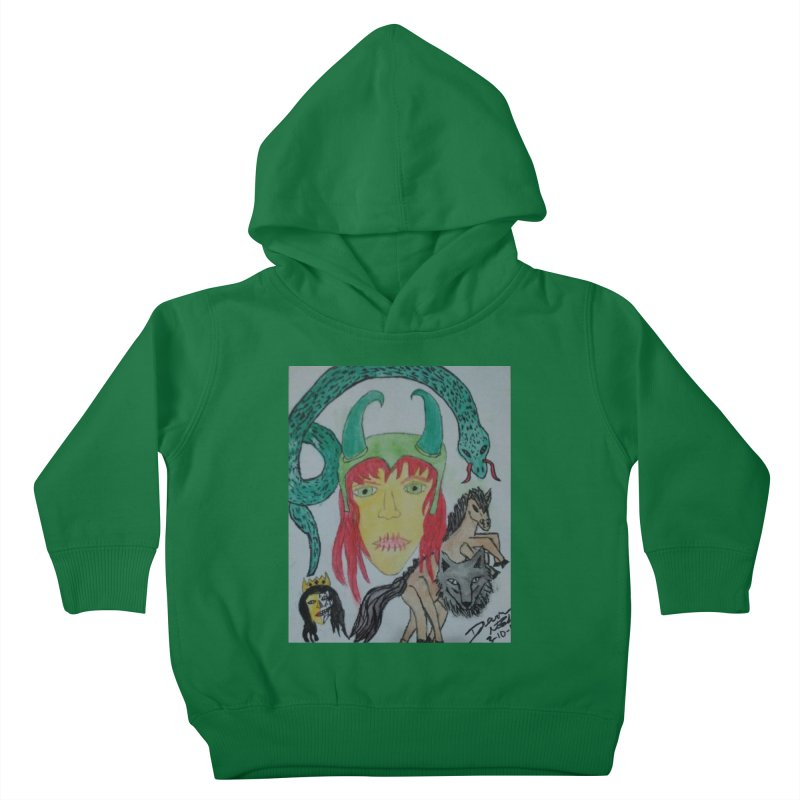 Loki's Children Kids Toddler Pullover Hoody by Mind-art Passion