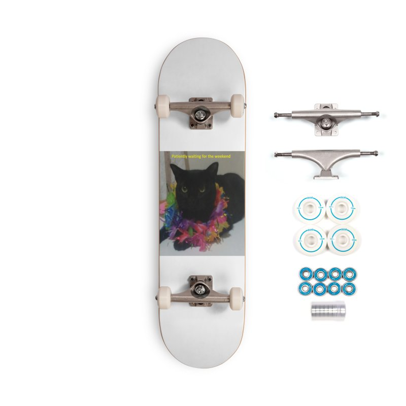 Weekend Wait Accessories Complete - Basic Skateboard by Mind-art Passion