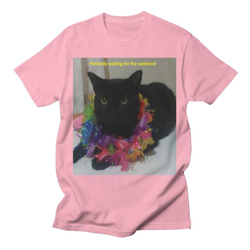 Weekend Wait Men's T-Shirt by Mind-art Passion