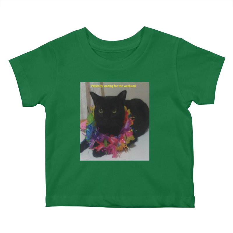 Weekend Wait Kids Baby T-Shirt by Mind-art Passion