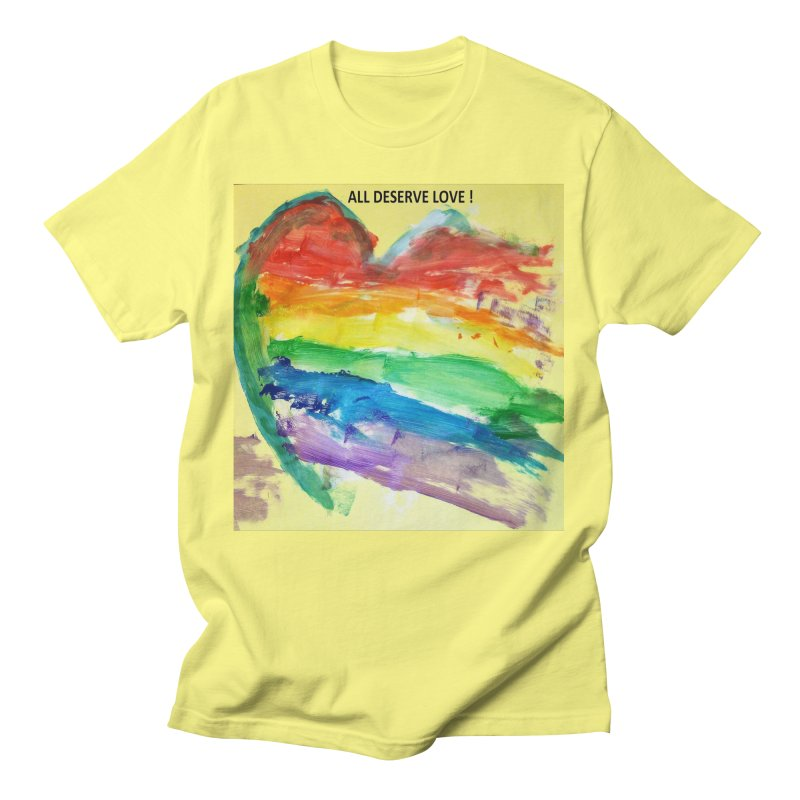 Pride Heart Men's T-Shirt by Mind-art Passion