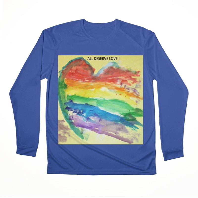 Pride Heart Women's Longsleeve T-Shirt by Mind-art Passion
