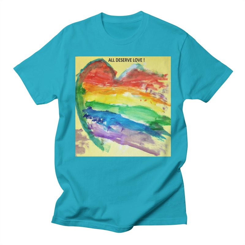 Pride Heart Women's Regular Unisex T-Shirt by Mind-art Passion