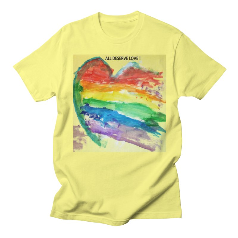 Pride Heart Women's T-Shirt by Mind-art Passion