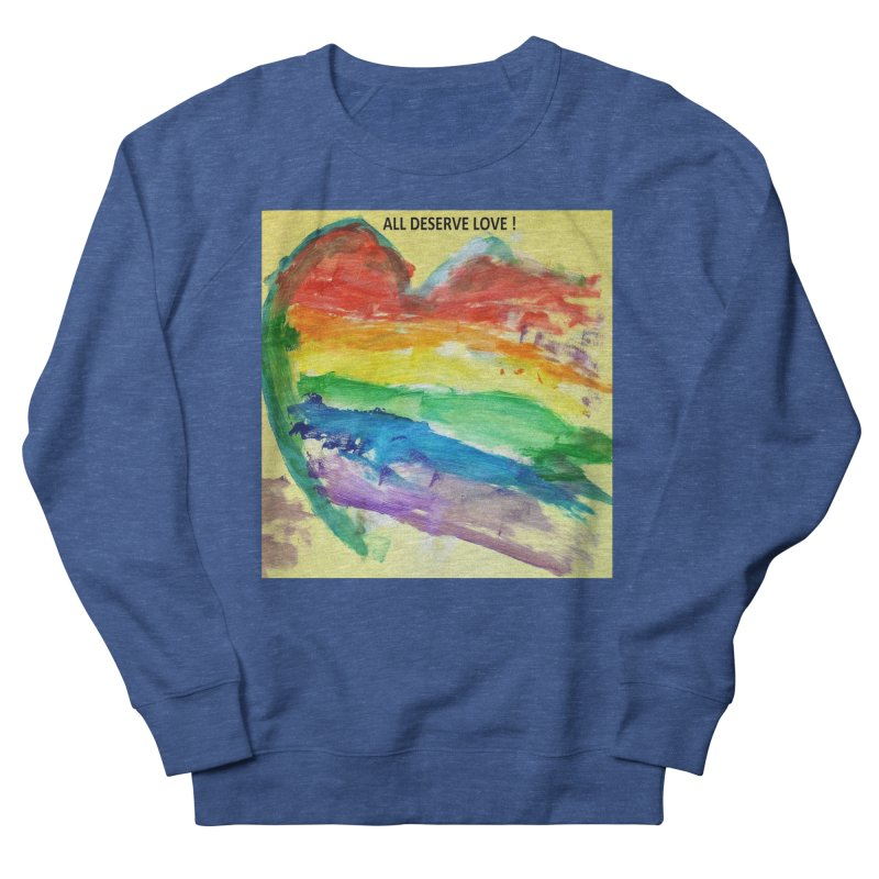 Pride Heart Women's Sweatshirt by Mind-art Passion
