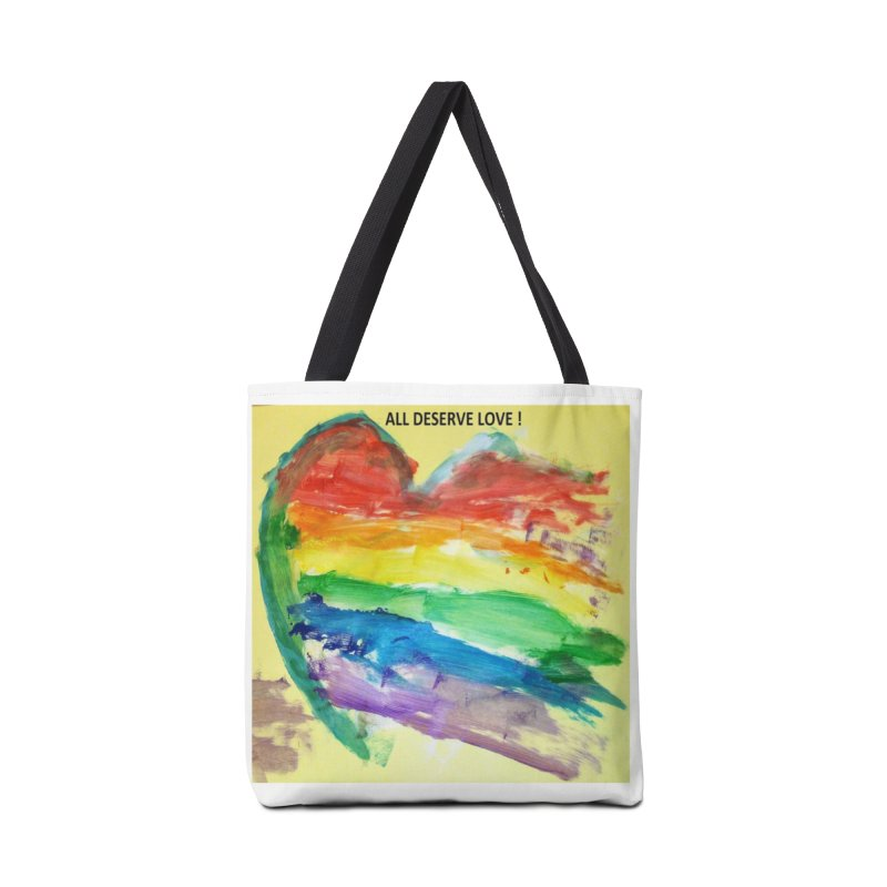 Pride Heart Accessories Bag by Mind-art Passion