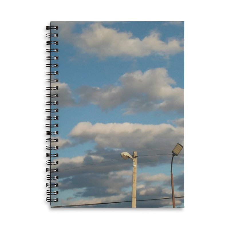 City Clouds Accessories Notebook by Mind-art Passion