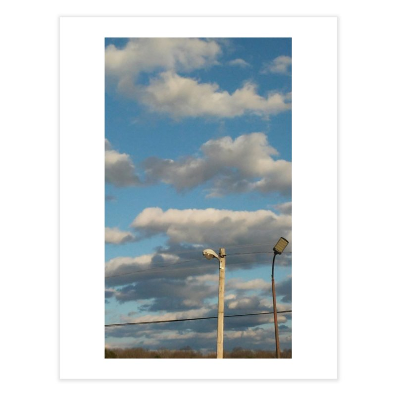 City Clouds Home Fine Art Print by Mind-art Passion