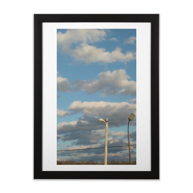 City Clouds Home Framed Fine Art Print by Mind-art Passion