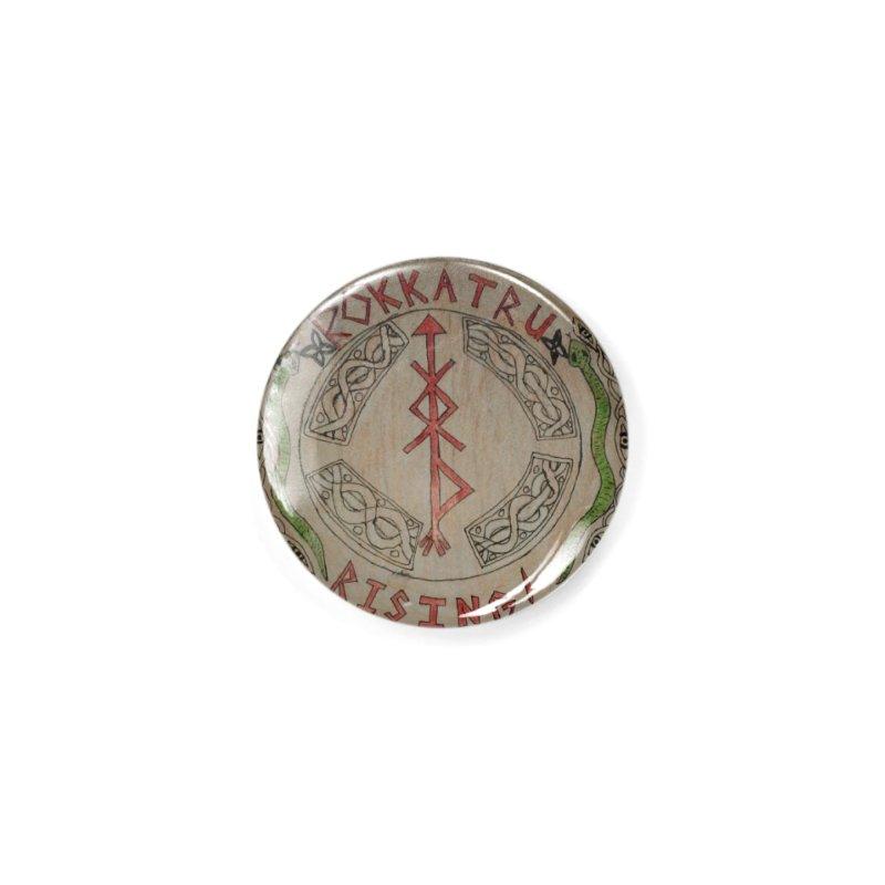 Rokkatru Rising Accessories Button by Mind-art Passion