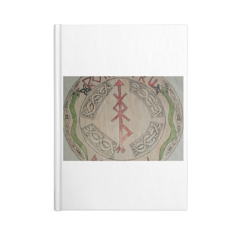 Rokkatru Rising Accessories Notebook by Mind-art Passion