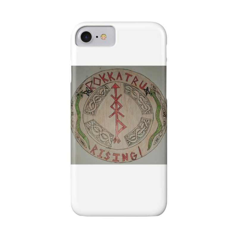 Rokkatru Rising Accessories Phone Case by Mind-art Passion