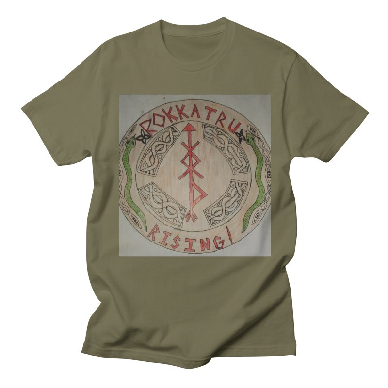 Rokkatru Rising Men's T-Shirt by Mind-art Passion