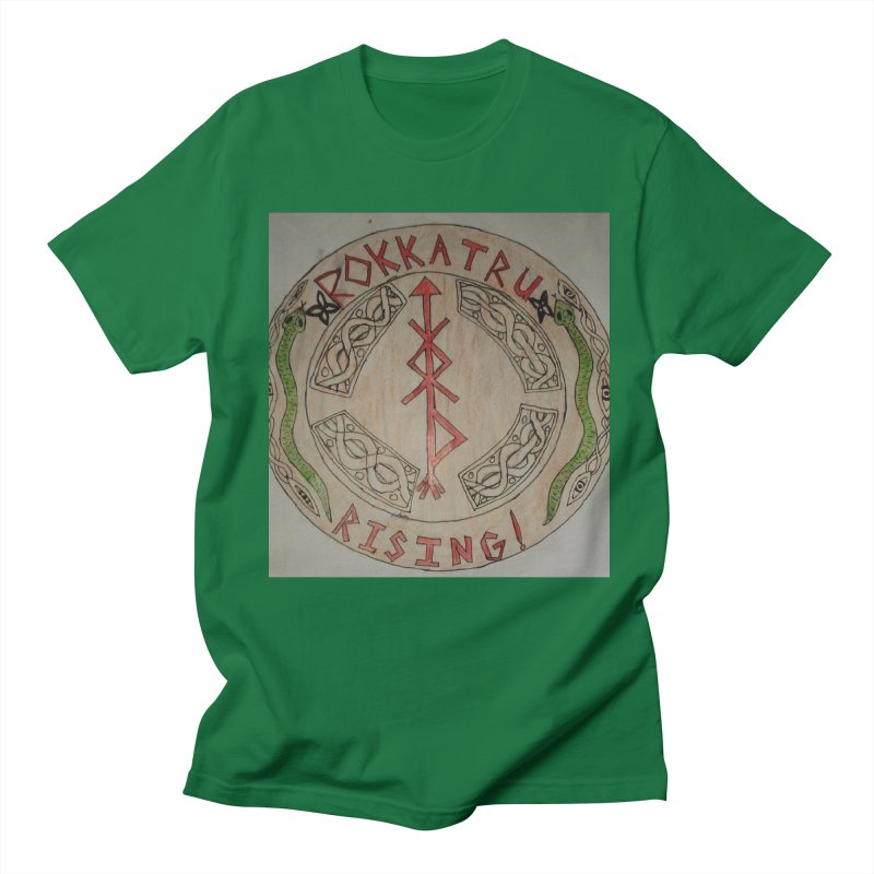 Rokkatru Rising Men's T-Shirt by Mind-art Passion