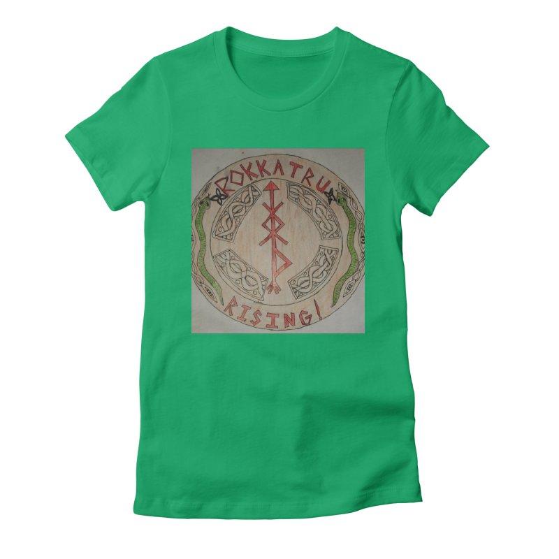 Rokkatru Rising Women's T-Shirt by Mind-art Passion