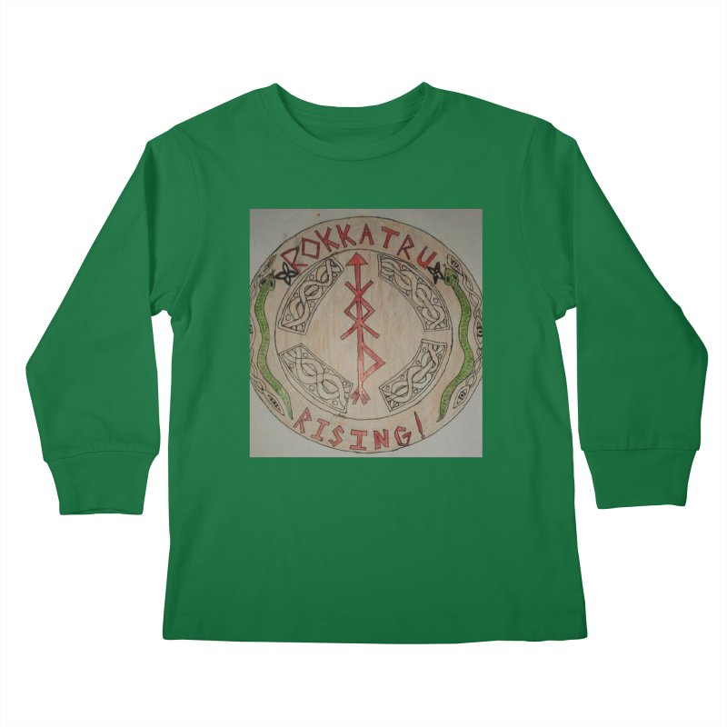 Rokkatru Rising Kids Longsleeve T-Shirt by Mind-art Passion