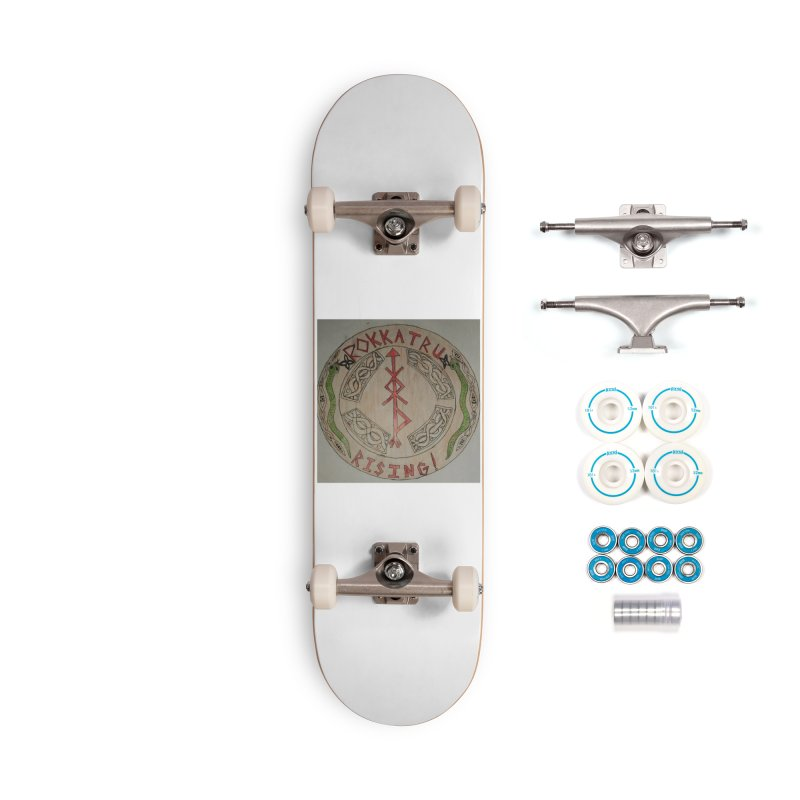 Rokkatru Rising Accessories Skateboard by Mind-art Passion