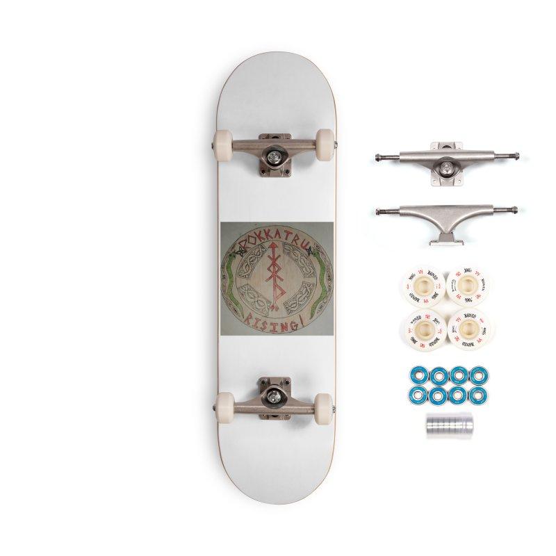 Rokkatru Rising Accessories Skateboard by Mind-art Passion