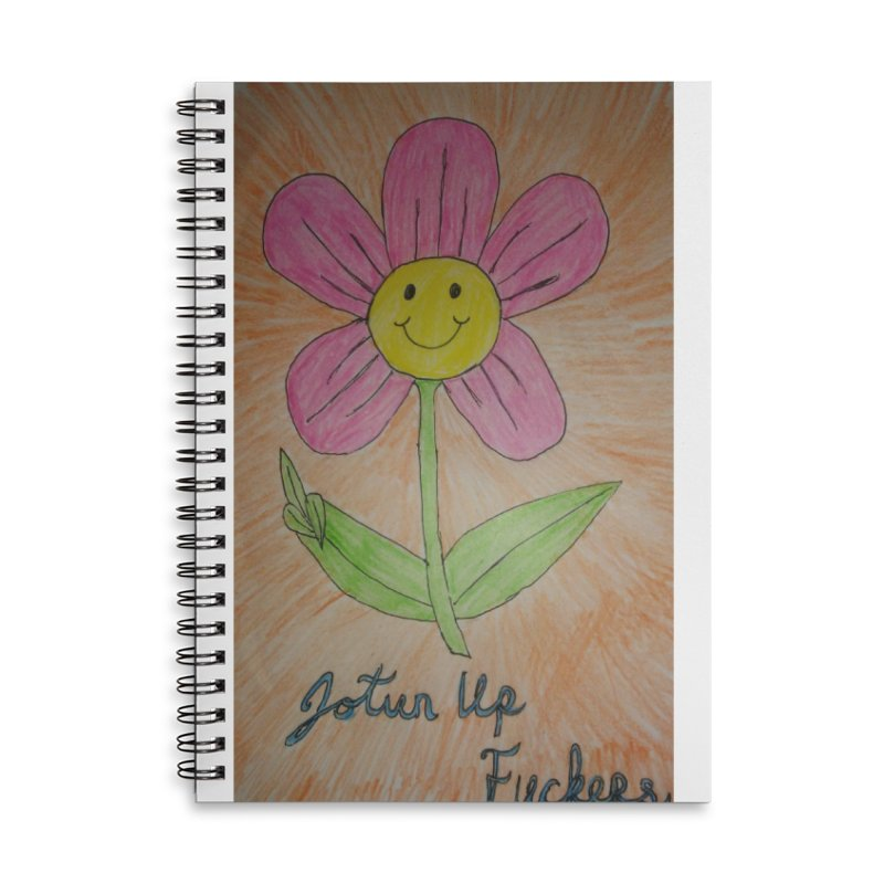 Jotun Up Accessories Notebook by Mind-art Passion