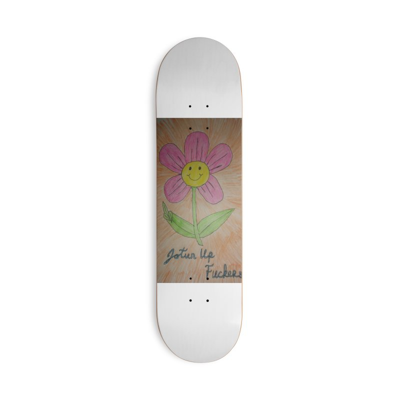 Jotun Up Accessories Deck Only Skateboard by Mind-art Passion