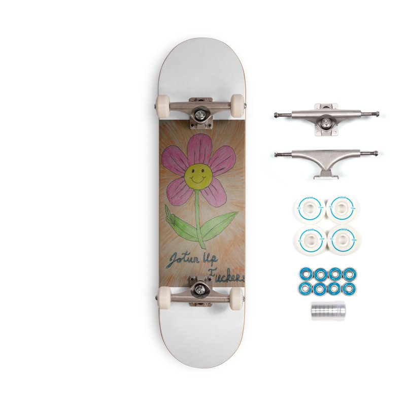 Jotun Up Accessories Complete - Basic Skateboard by Mind-art Passion