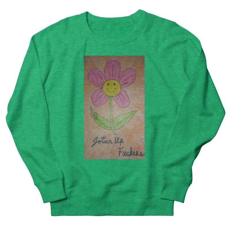 Jotun Up Women's French Terry Sweatshirt by Mind-art Passion