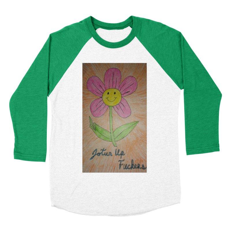 Jotun Up Women's Baseball Triblend Longsleeve T-Shirt by Mind-art Passion
