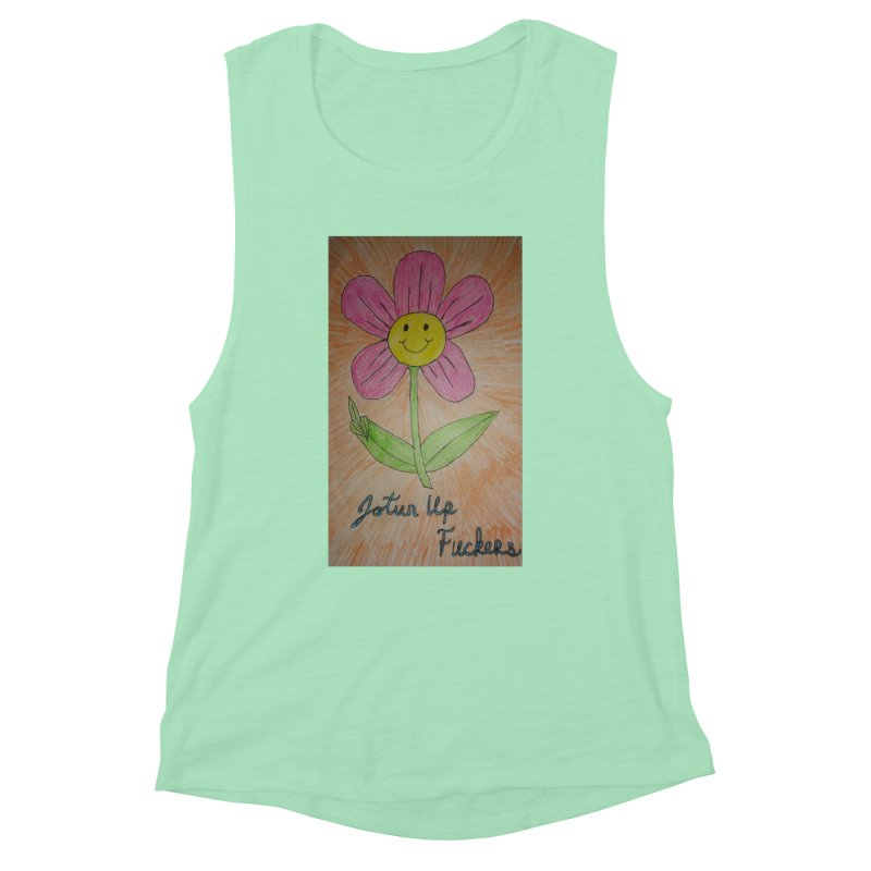 Jotun Up Women's Muscle Tank by Mind-art Passion