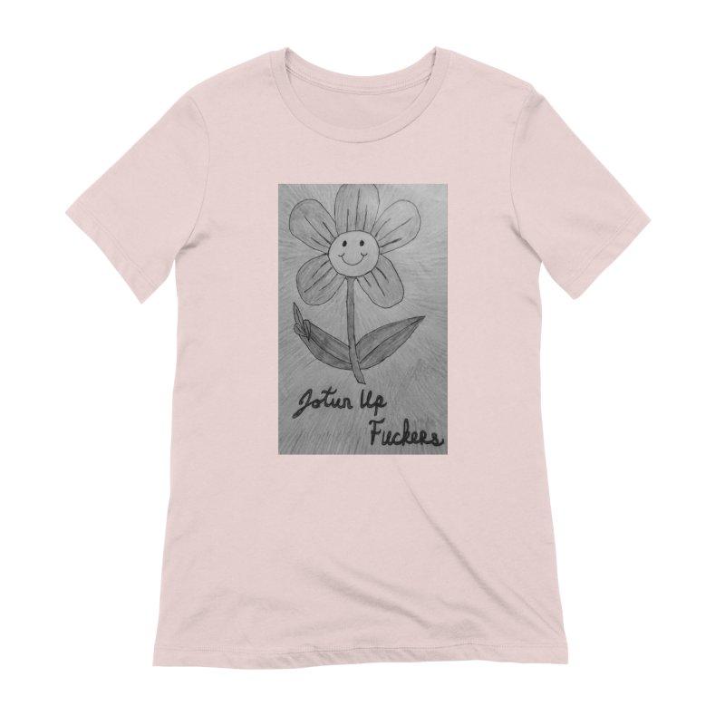 Jotun Up Blk&Wht Women's Extra Soft T-Shirt by Mind-art Passion