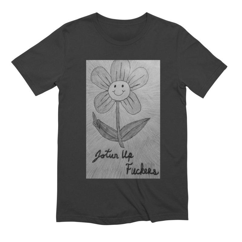 Jotun Up Blk&Wht Men's T-Shirt by Mind-art Passion