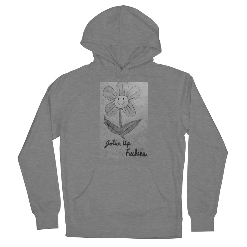Jotun Up Blk&Wht Women's Pullover Hoody by Mind-art Passion