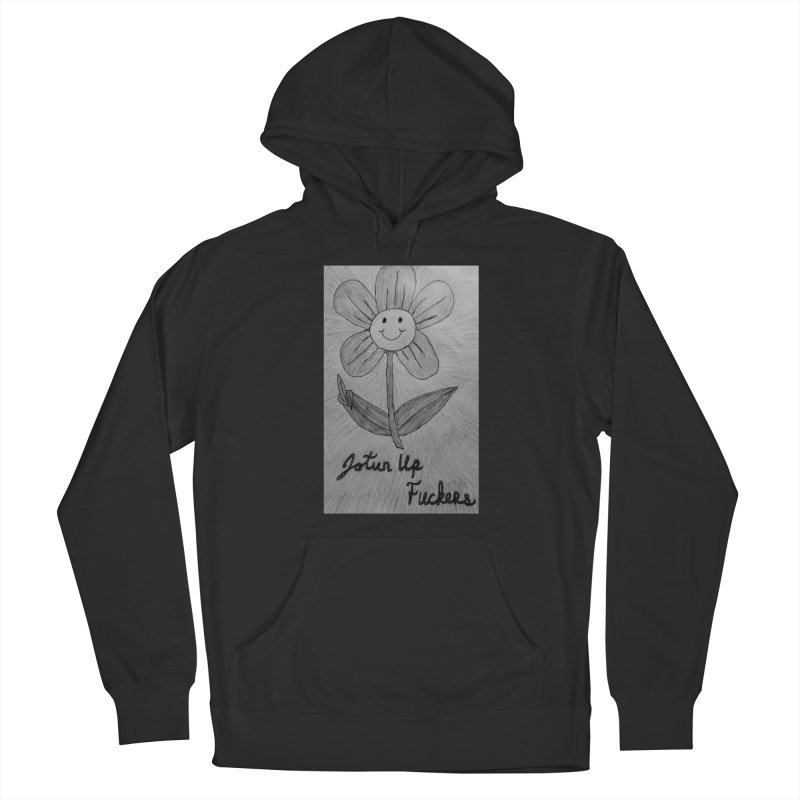 Jotun Up Blk&Wht Men's Pullover Hoody by Mind-art Passion