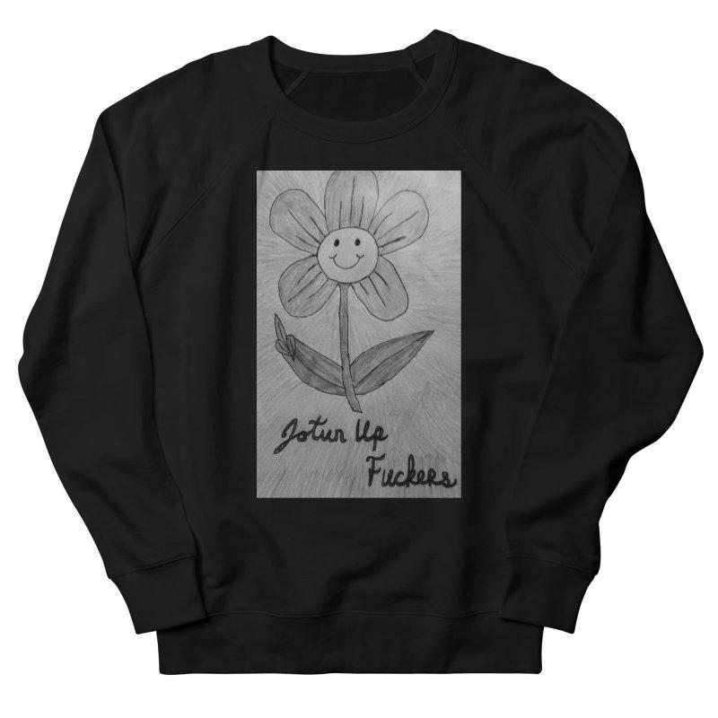 Jotun Up Blk&Wht Men's Sweatshirt by Mind-art Passion